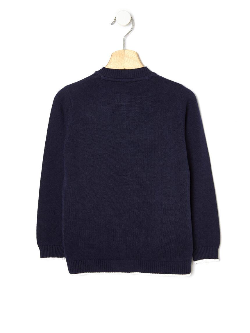 Cardigan tricot con zip - Prénatal