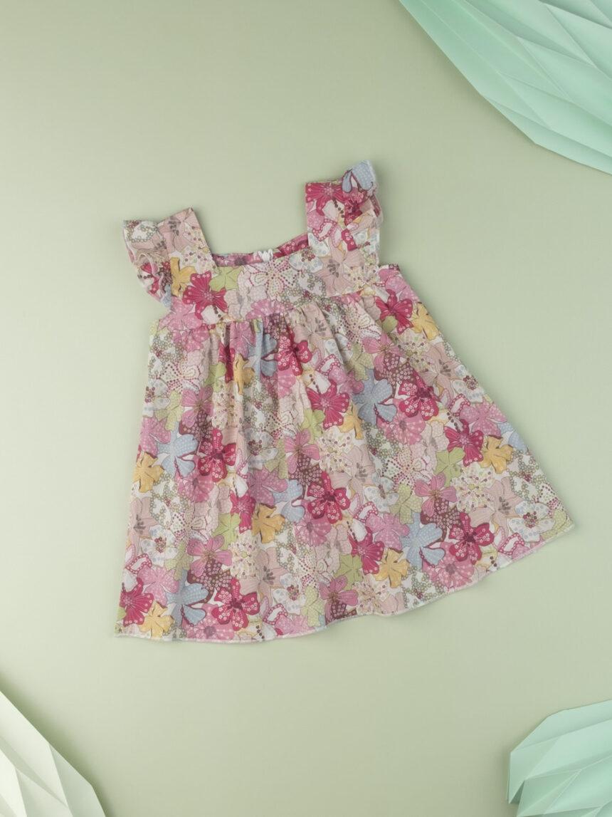 """Vestido de menina """"flor doce"""" em tecido liberty - Prénatal"""