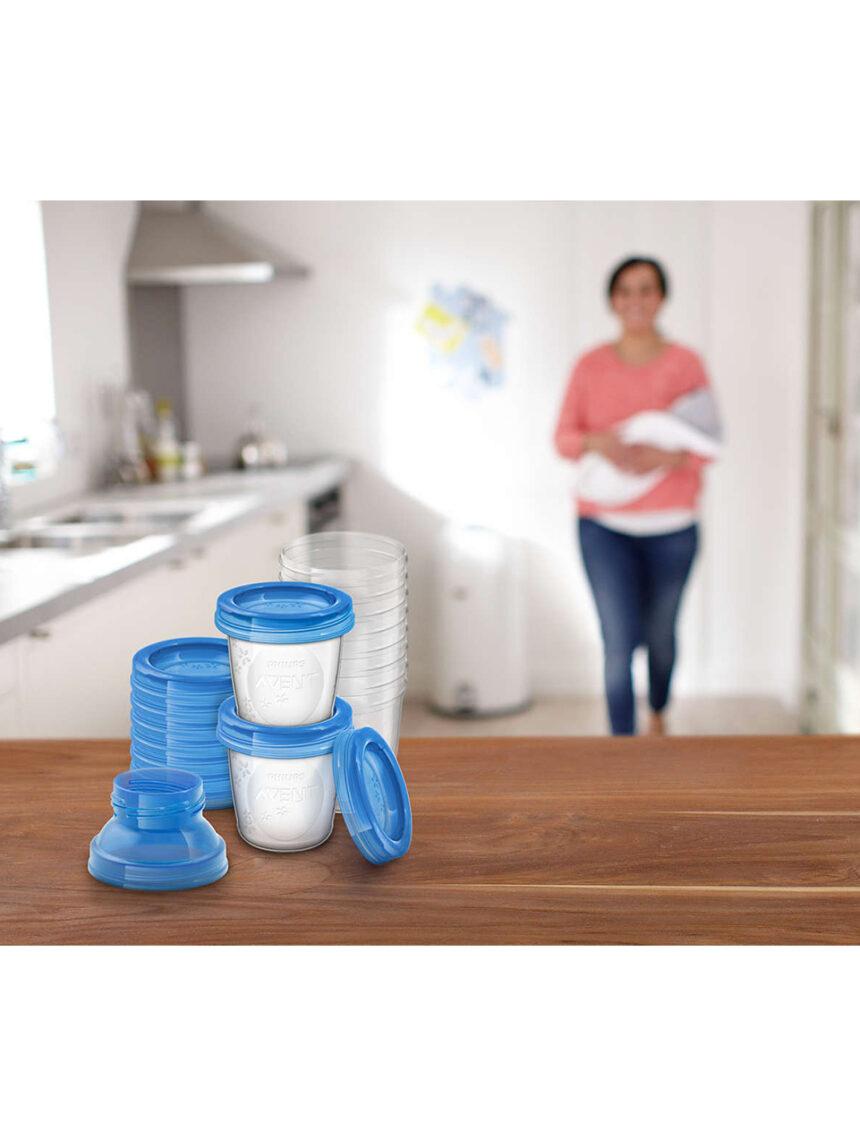 Recipientes de leite materno avent - Avent