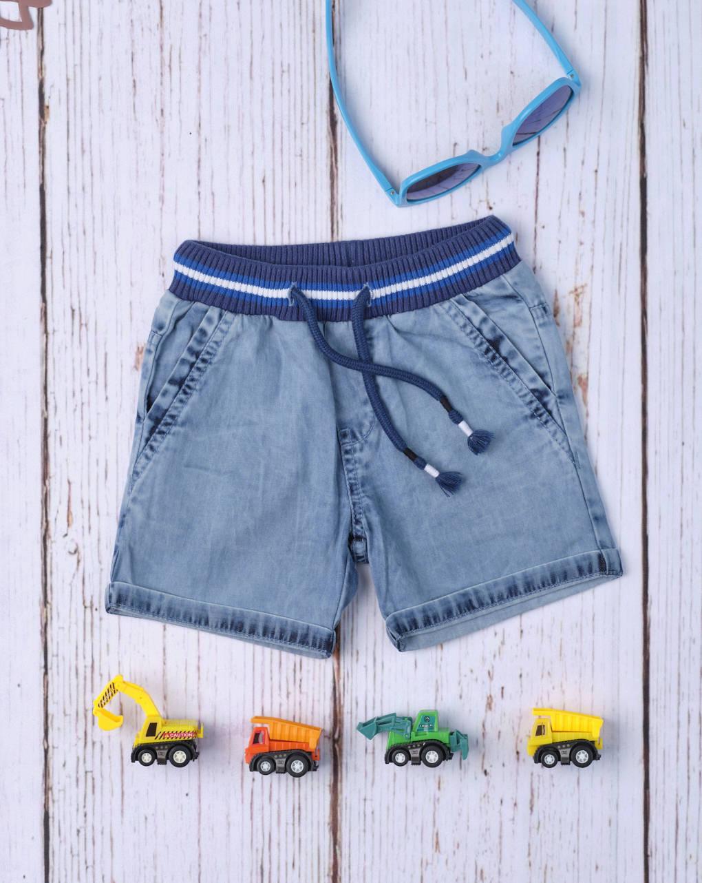 Shorts bimbo jeans jeans azul - Prénatal
