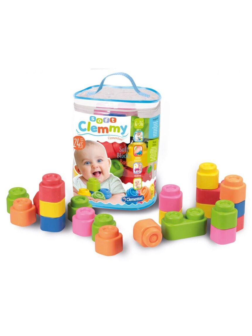 Clemmy - saco de 24 tijolos - Clementoni