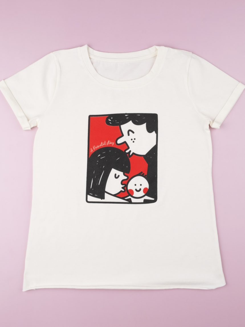 "Camiseta ""branca"" - Prénatal"
