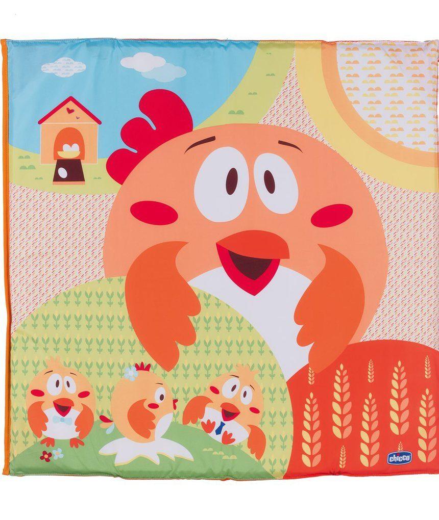 Box quadrato pieghevole frango chique aberto - Chicco