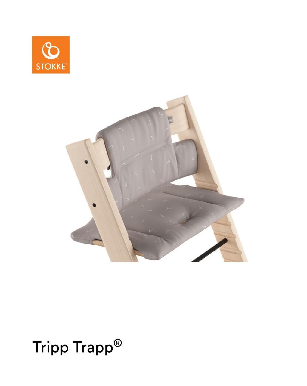 Almofada tripp trapp® - ícone cinza - Stokke