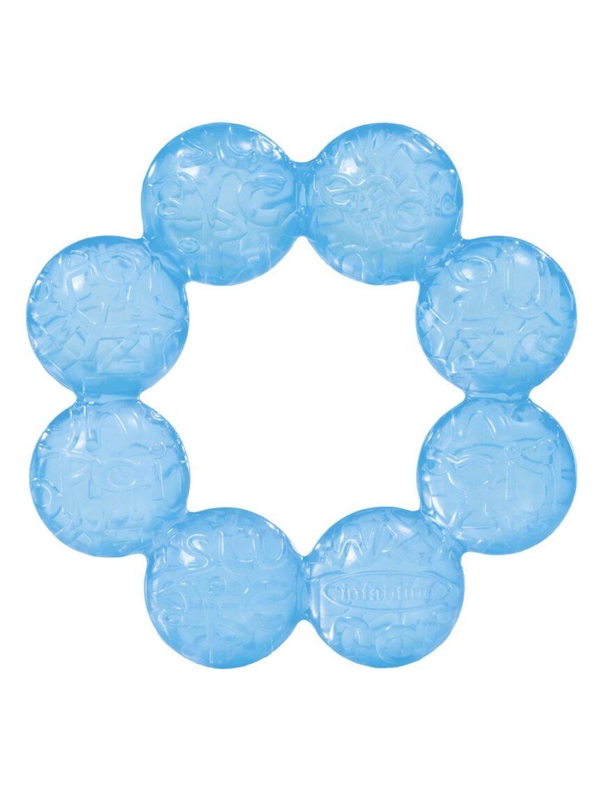 Infantil - argola de dentição azul - Infantino