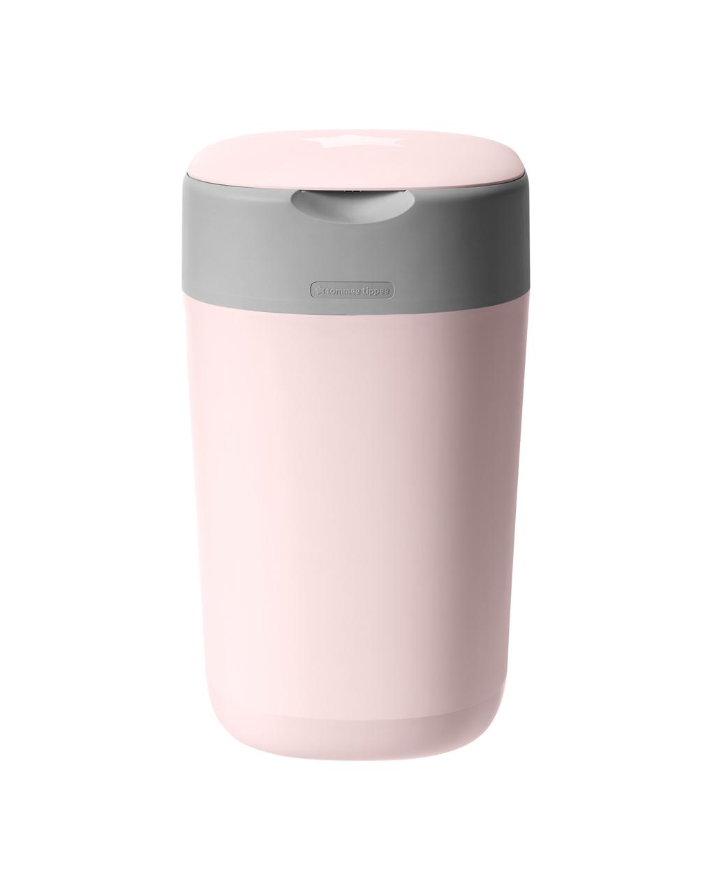 Girar e clicar no recipiente rosa - Tommee Tippee