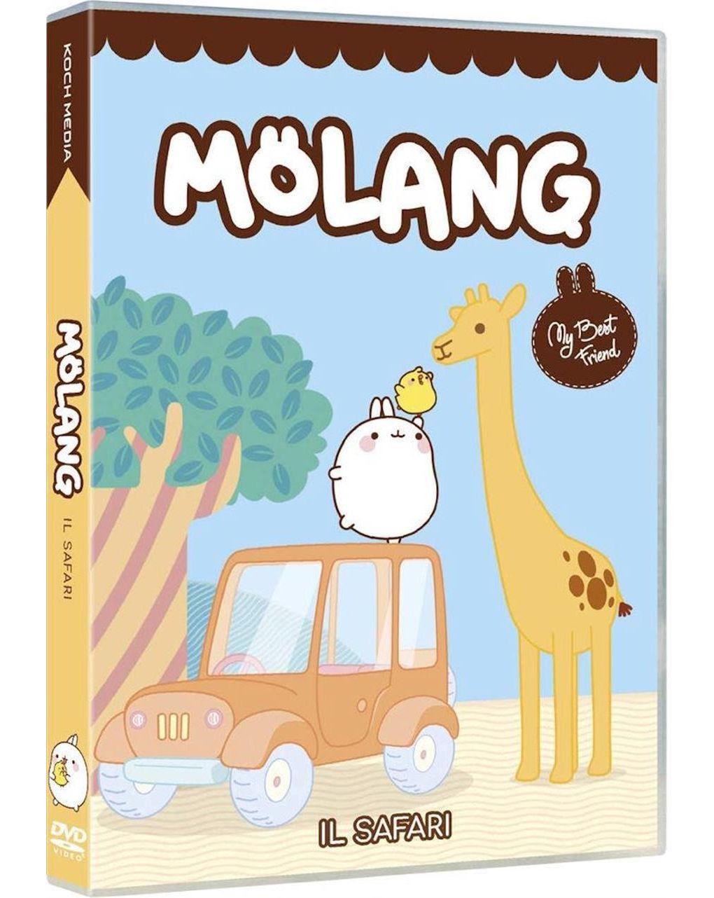 Dvd molang - o safari e outras histórias - Video Delta