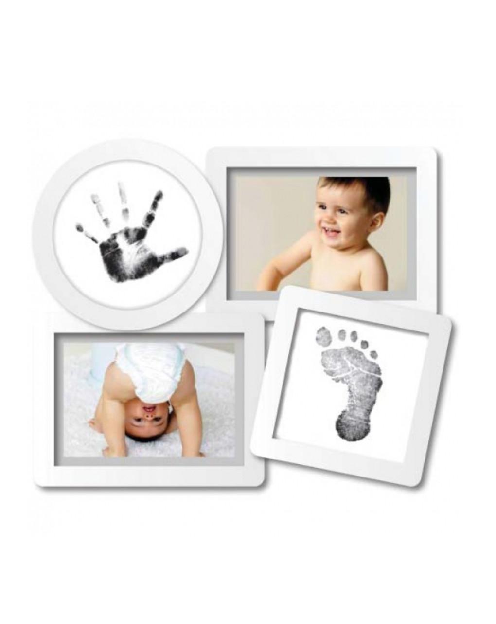Moldura de colagem de babyprints - Pearhead