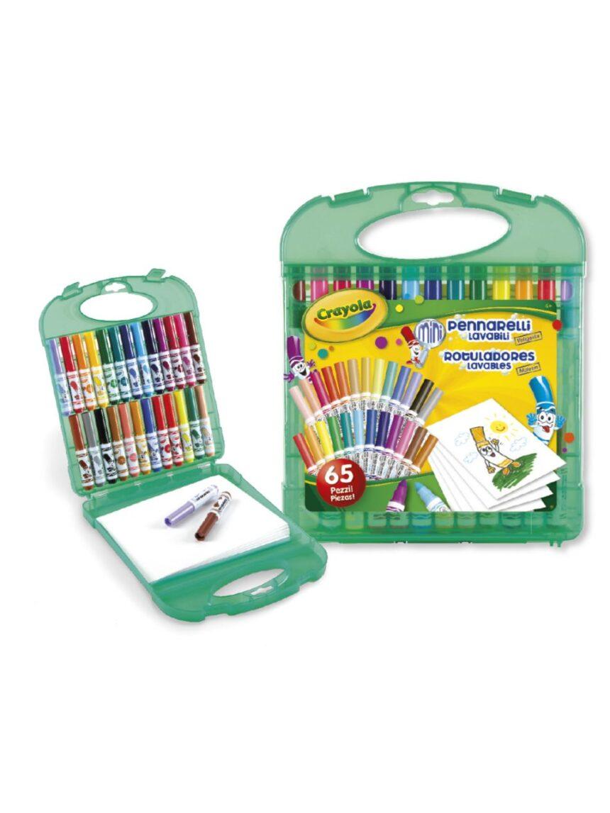 Crayola - conjunto de marcadores laváveis - Crayola