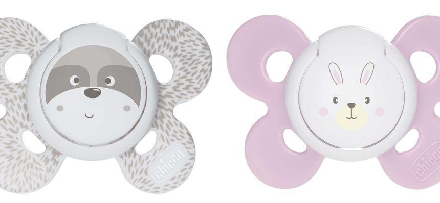 Chupeta de silicone conforto bebê 0-6m 2 peças chicco - Chicco