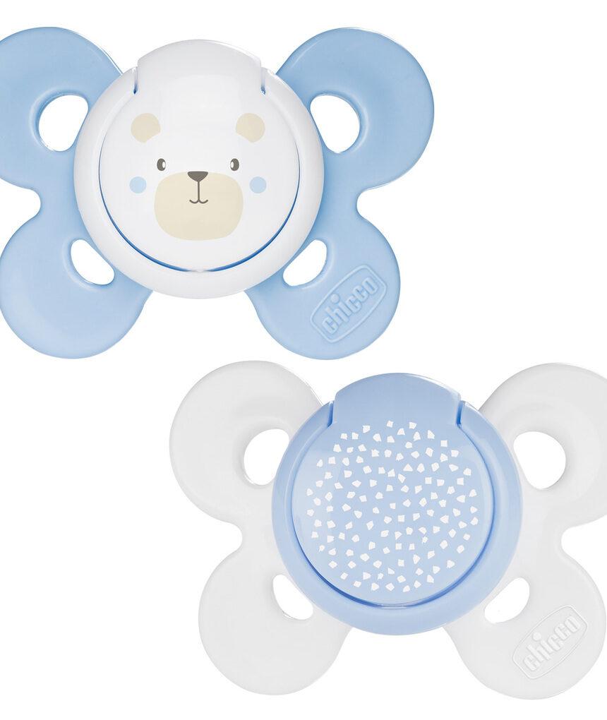 Chupeta bebê conforto silicone 0-6m 2 peças chicco - Chicco
