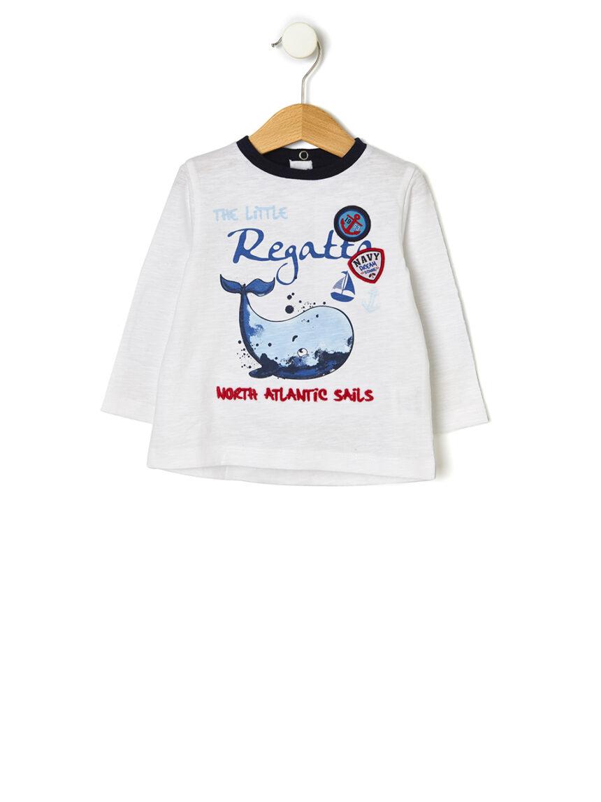 Camiseta estampada de marinheiro - Prénatal