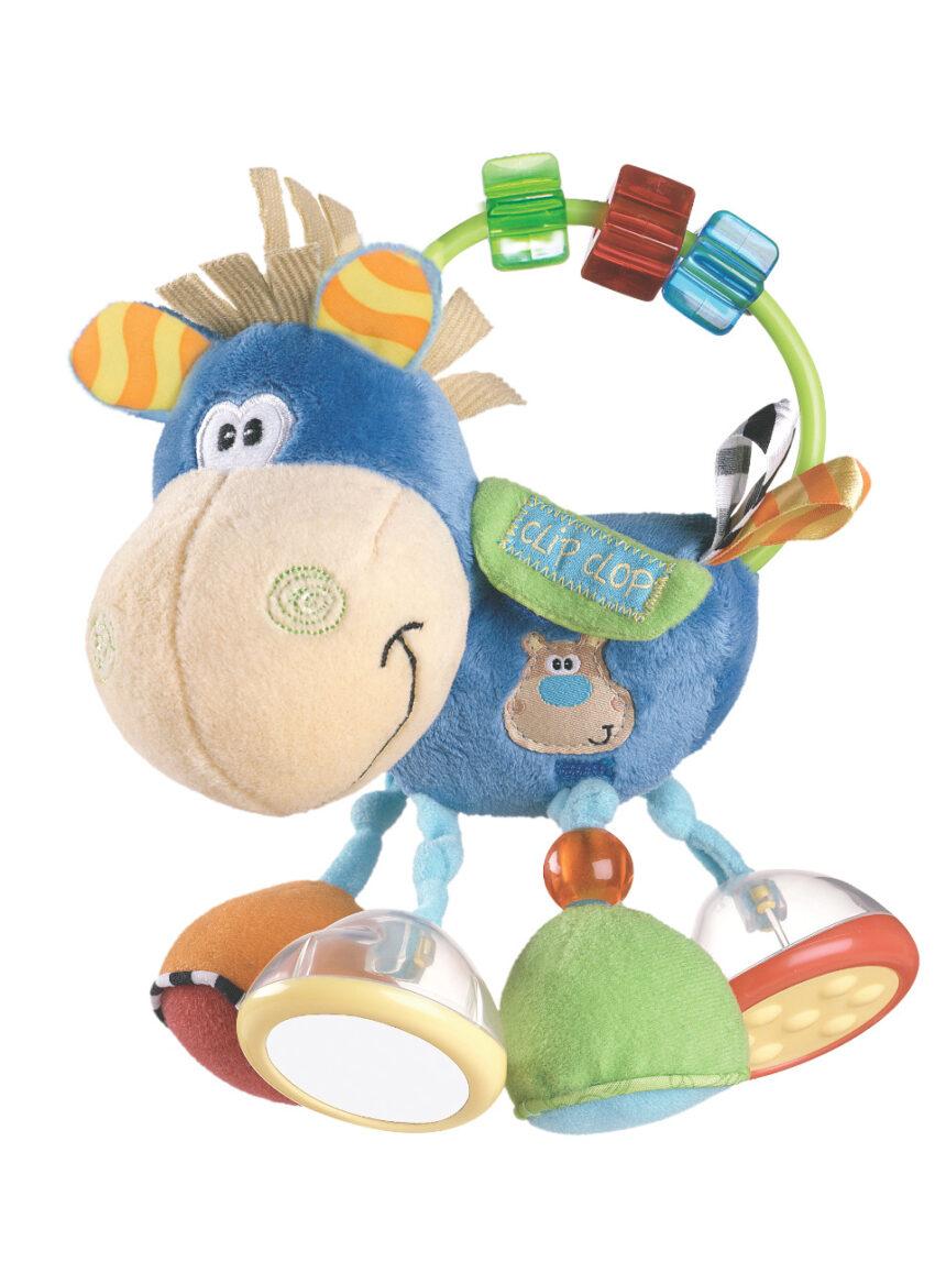 Playgro - chocalho de atividade clop de clipe de caixa de brinquedos - Playgro