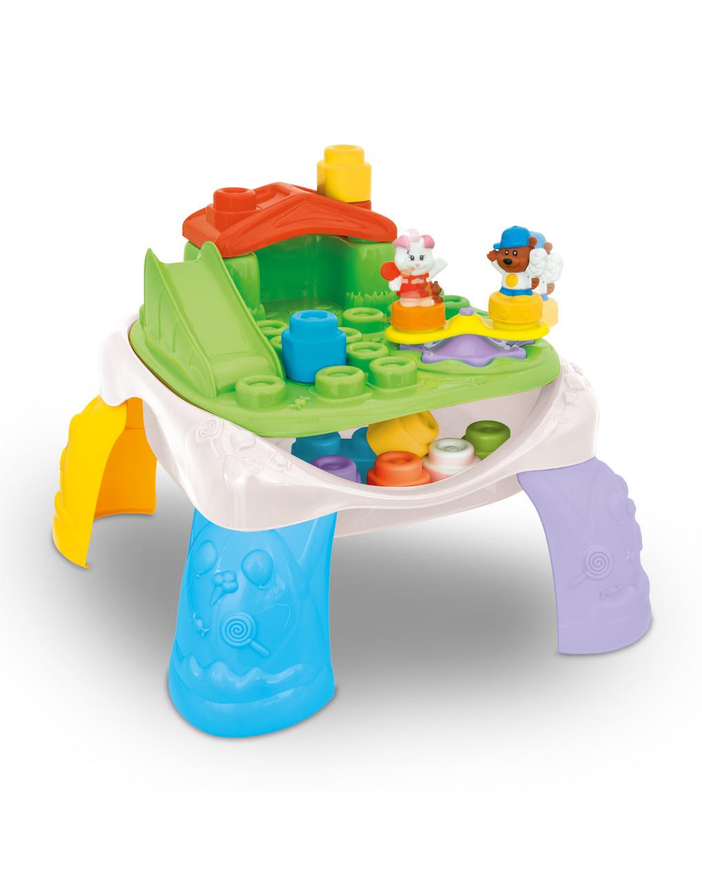 Clemmy - mesa de playground - Clementoni