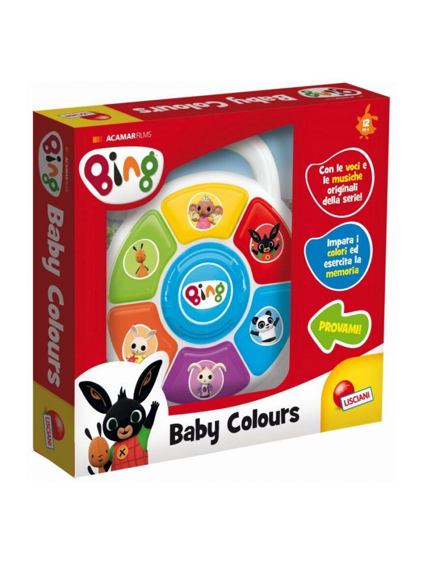 Lisciani - cores bing baby - Bing