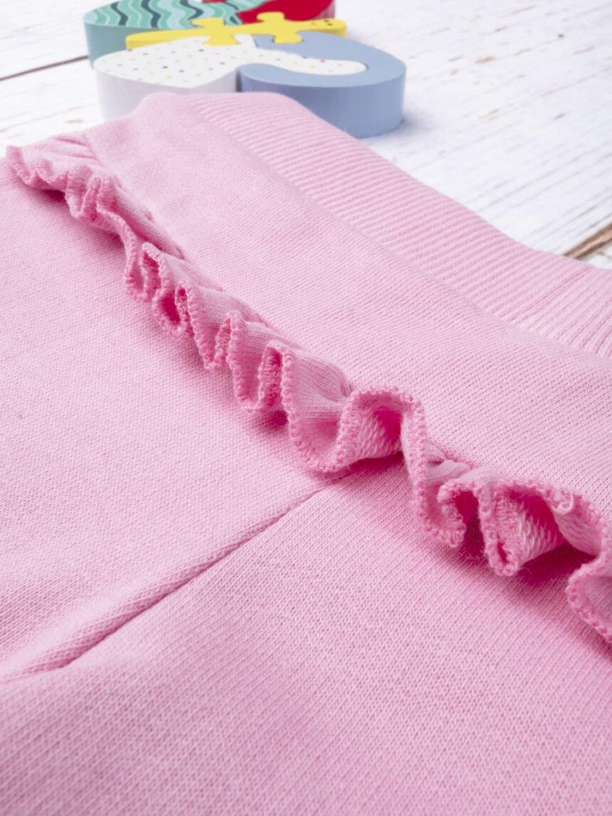Pantalone felpato rosa - Prénatal