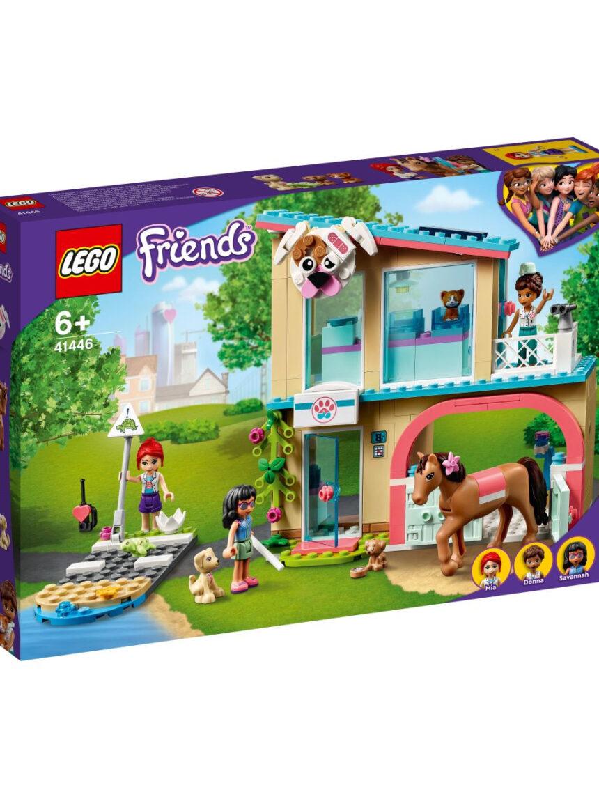Amigos da lego - clínica veterinária da cidade de heartlake - 41446 - LEGO