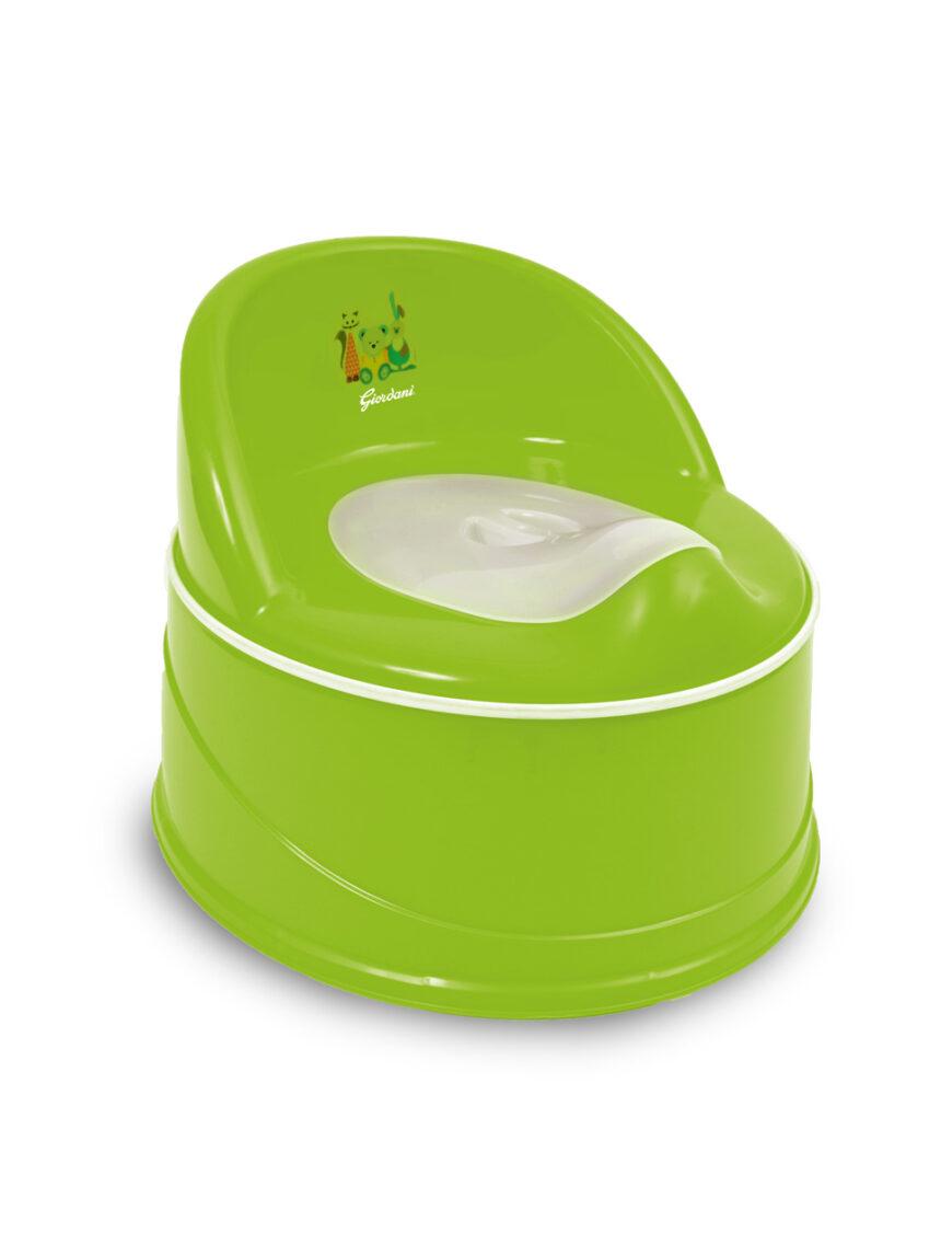 Redutor de penico + redutor de vaso sanitário + plataforma elevada verde - Giordani