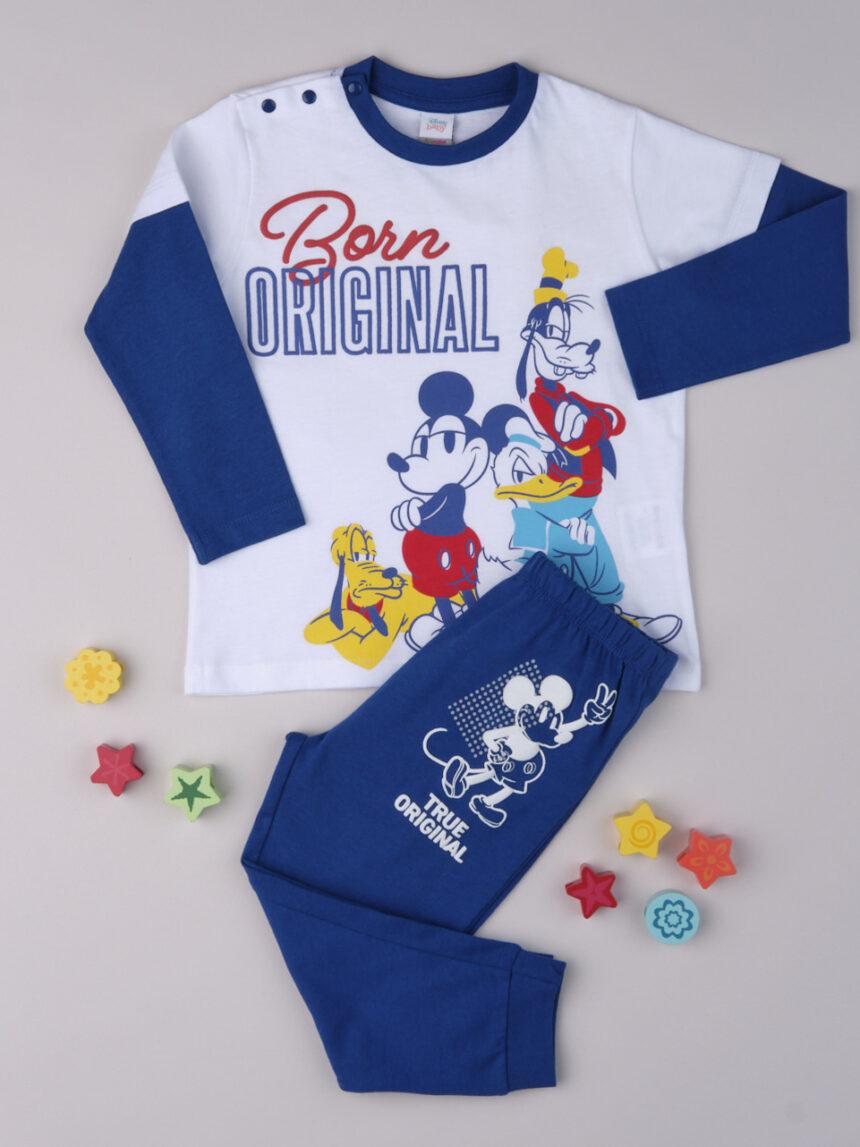 """Pijama de bebê """"original"""" do mickey - Prénatal"""