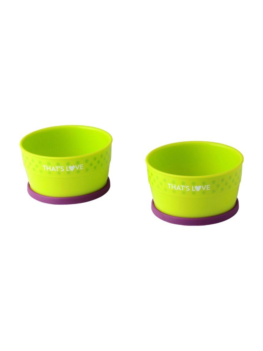 Conjunto de duas taças com anel de silicone - That's Love