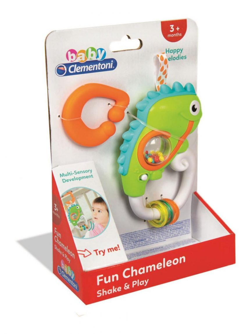 Clementoni bebê - camaleão interativo - Clementoni