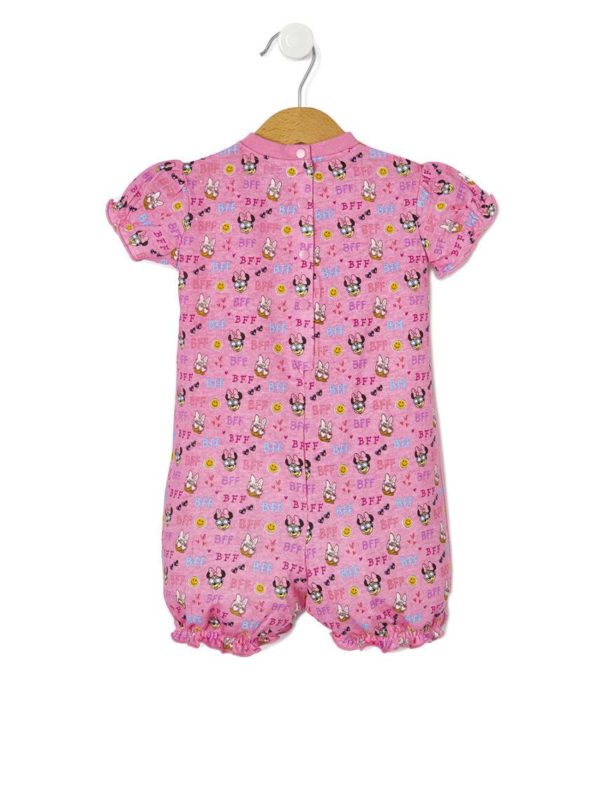 Pijama com estampa de minnie mouse - Prénatal