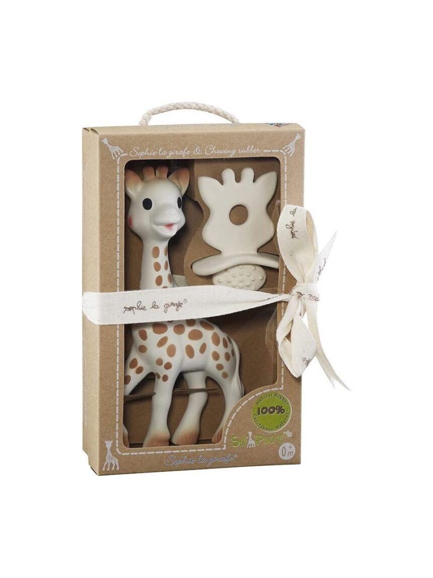 Você quer - sofia, a girafa + massageador de goma - SOPHIE LA GIRAFE