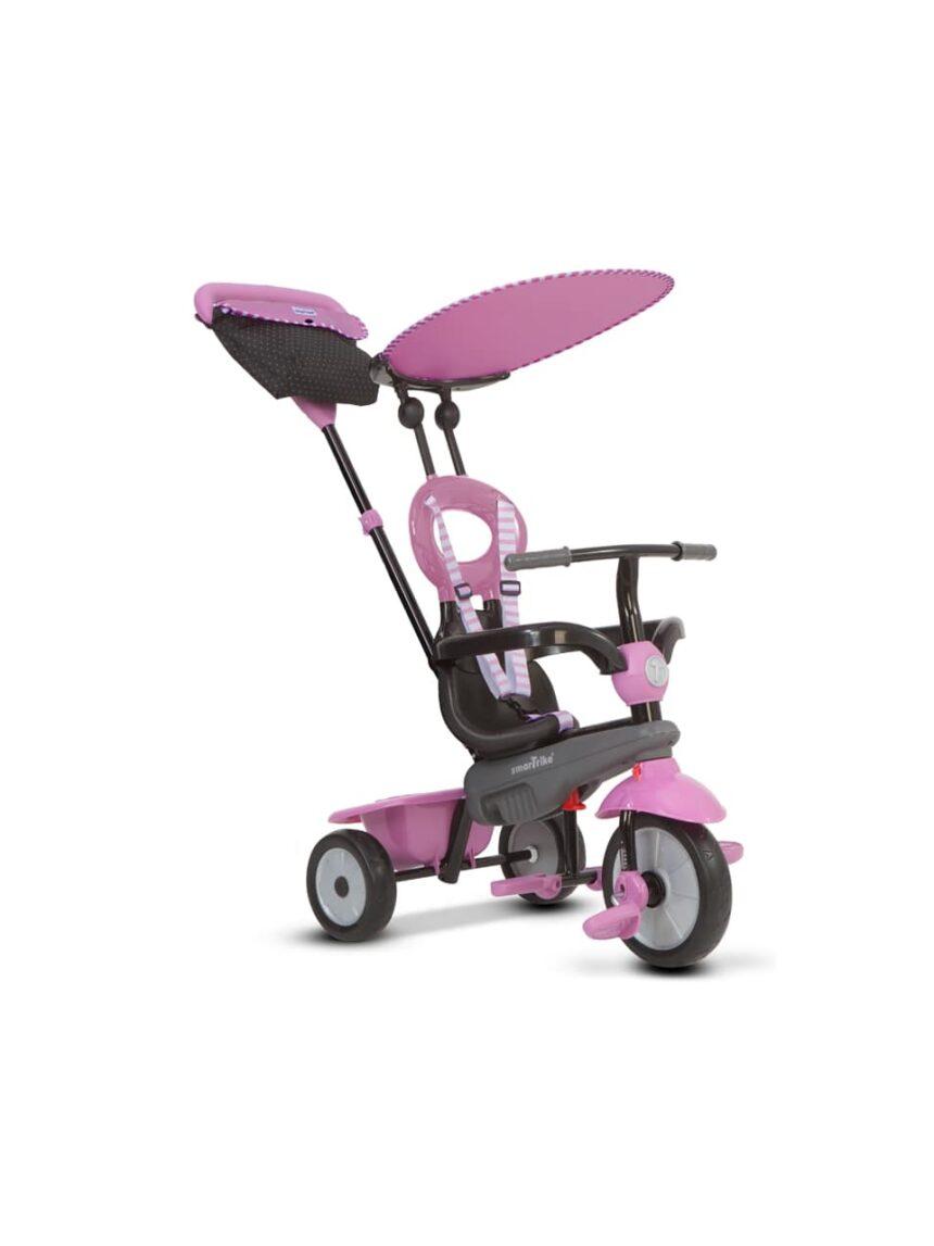 Trike inteligente rosa baunilha - SmarTrike
