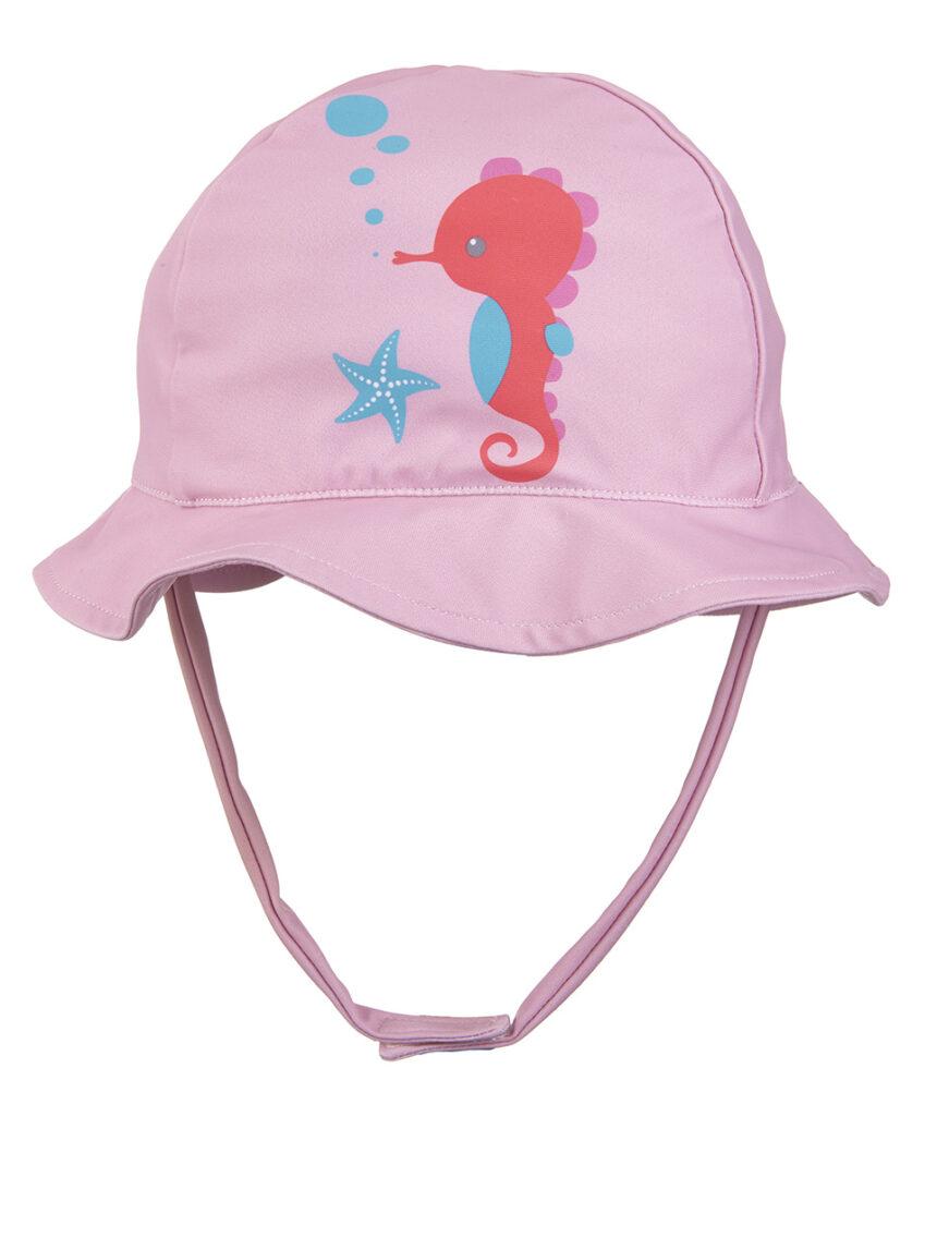 Chapéu com estampa de cavalo marinho - Prénatal