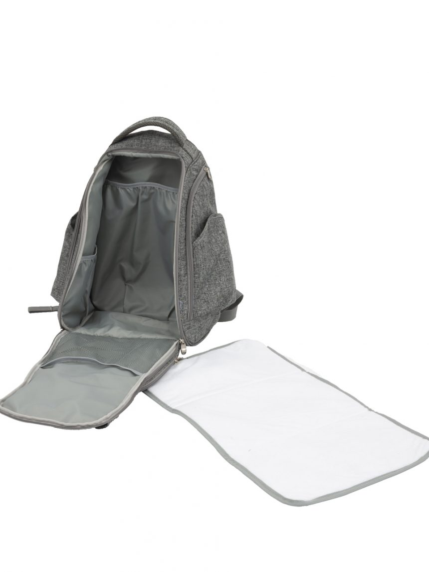 Troca de mochila cinza - Giordani