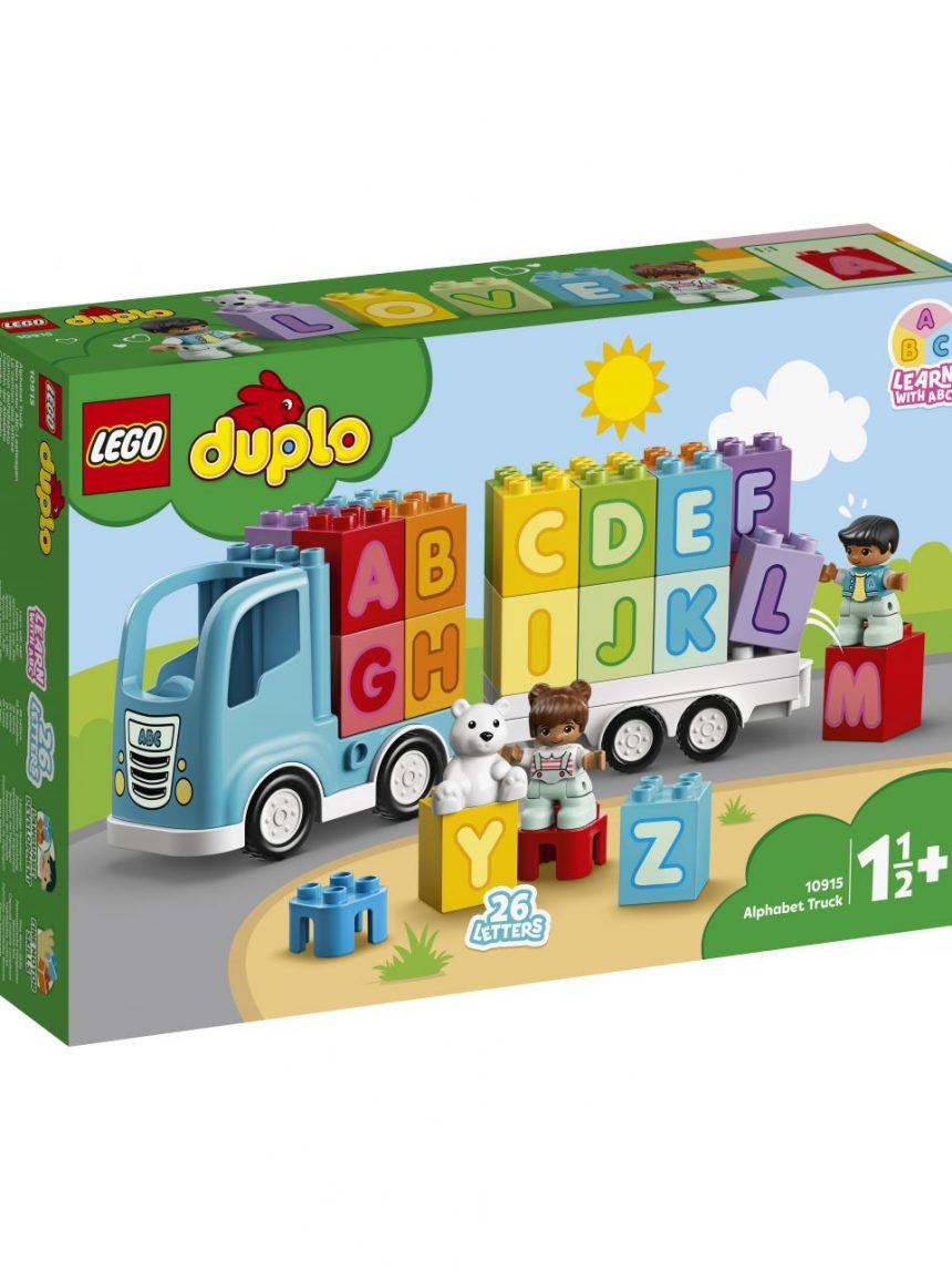 Duplo - caminhão do alfabeto - 10915 - LEGO Duplo