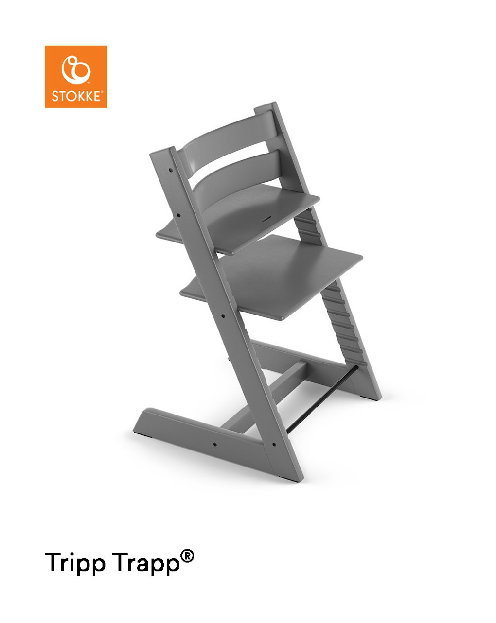 Tripp trapp® - cinza tempestade - Stokke