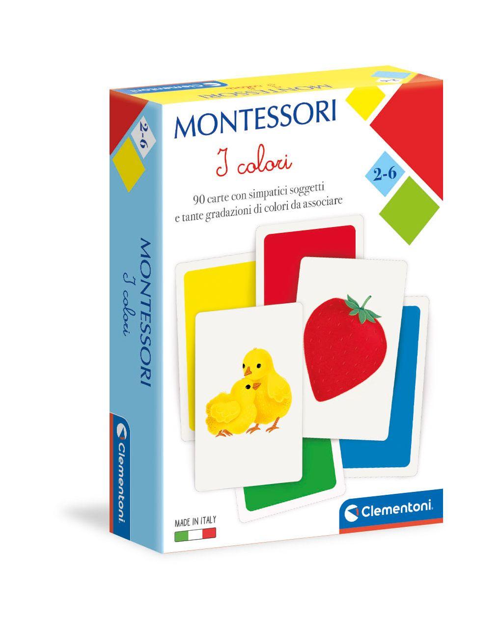 Clementoni - montessori - cores - Clementoni