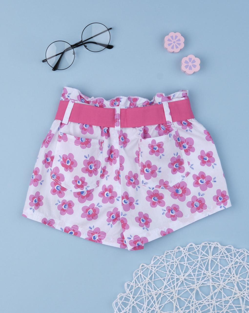 "Shorts bimba ""flor total"" - Prénatal"