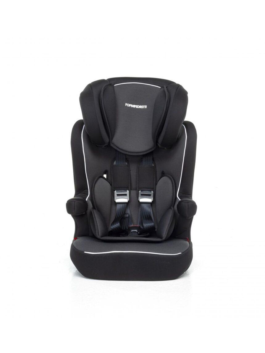 Assento de carro express - preto (gr. 1/2/3) - Foppapedretti