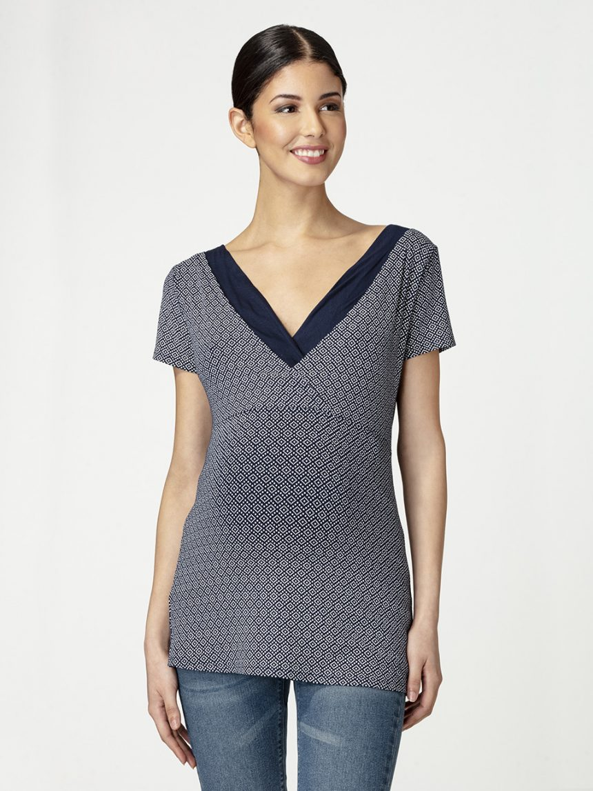 Camiseta de amamentação micromodal - Prénatal