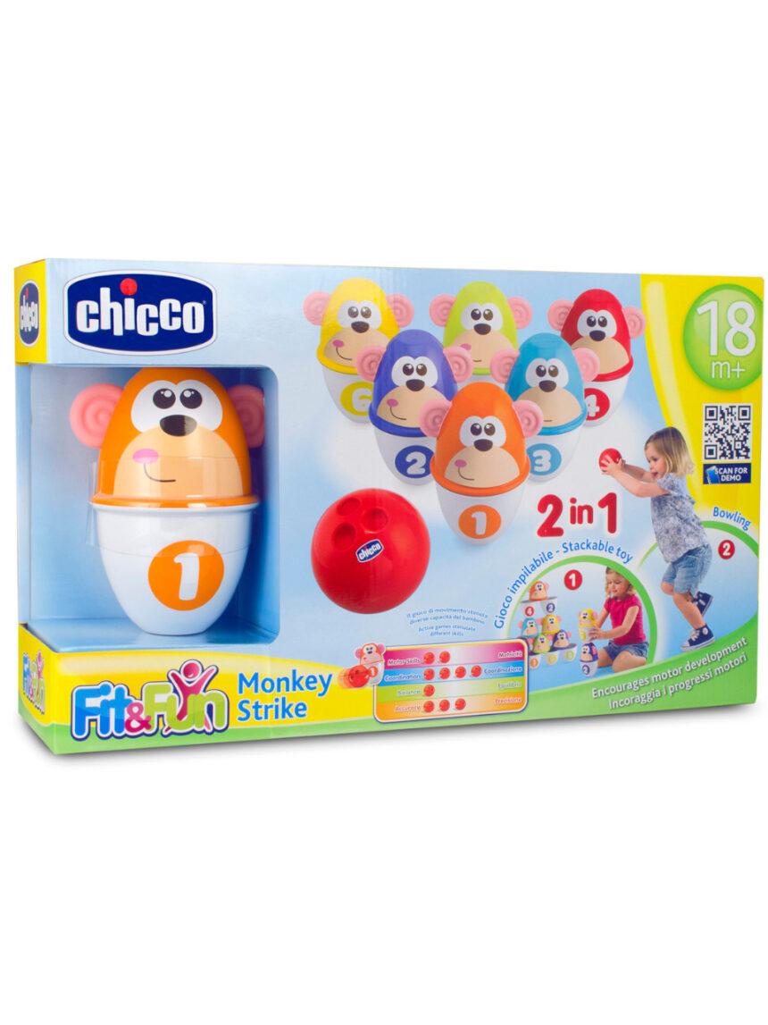 Chicco - jogo de esportes de ataque de macaco - Chicco