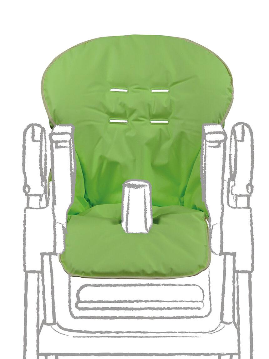 Capa para cadeira alta em pvc verde - Giordani