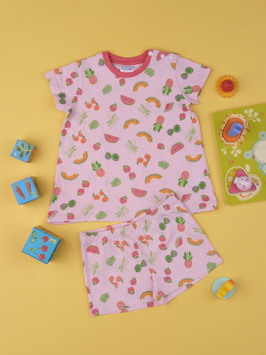 """Pacote de 2 pijamas femininos """"tropicais"""" - Prénatal"""