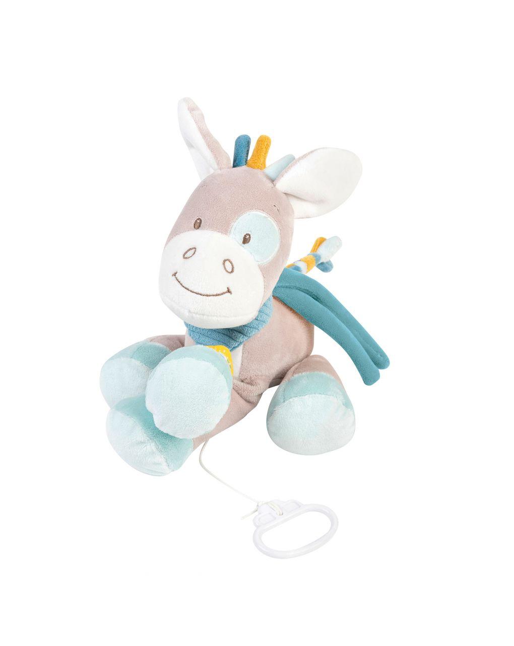 Nattou - caixa de música tim the horse - Nattou