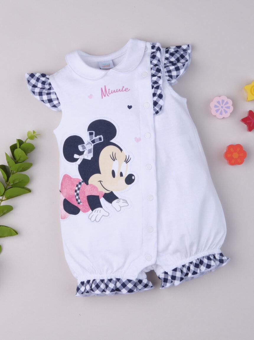 """Macacão de bebê """"minnie"""" - Prénatal"""