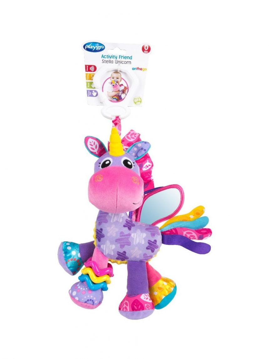 Playgro - amiga de atividade, stella unicorn - Playgro