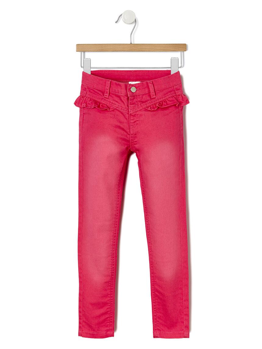 Pantalone jeans com rouches - Prénatal