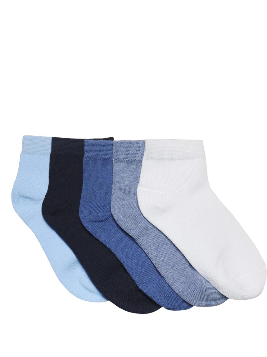 Pacote de 5 pares de meias coloridas - Prénatal