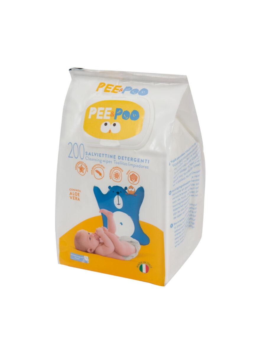 O xixi e o cocô - lenços de limpeza 200 pcs - The Pee & The Poo