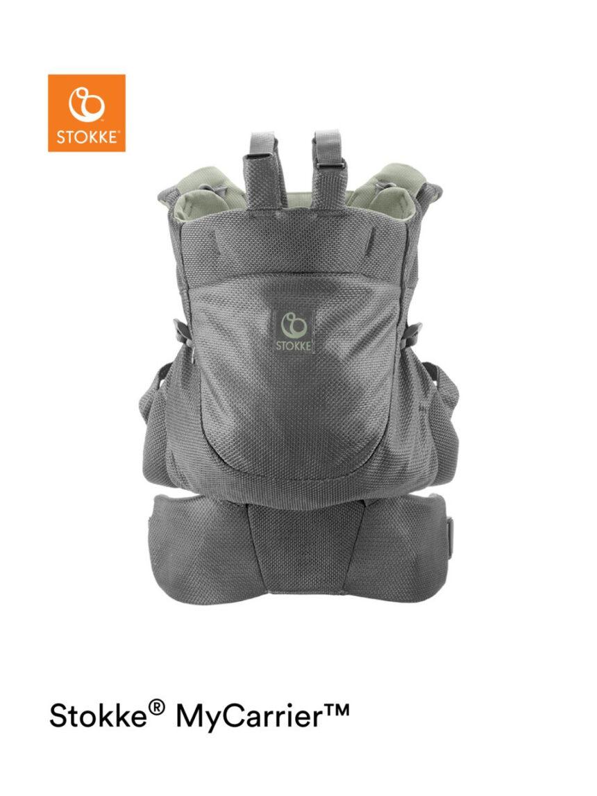 Bolsa frontal e traseira de malha verde stokke® mycarrier ™ - Stokke
