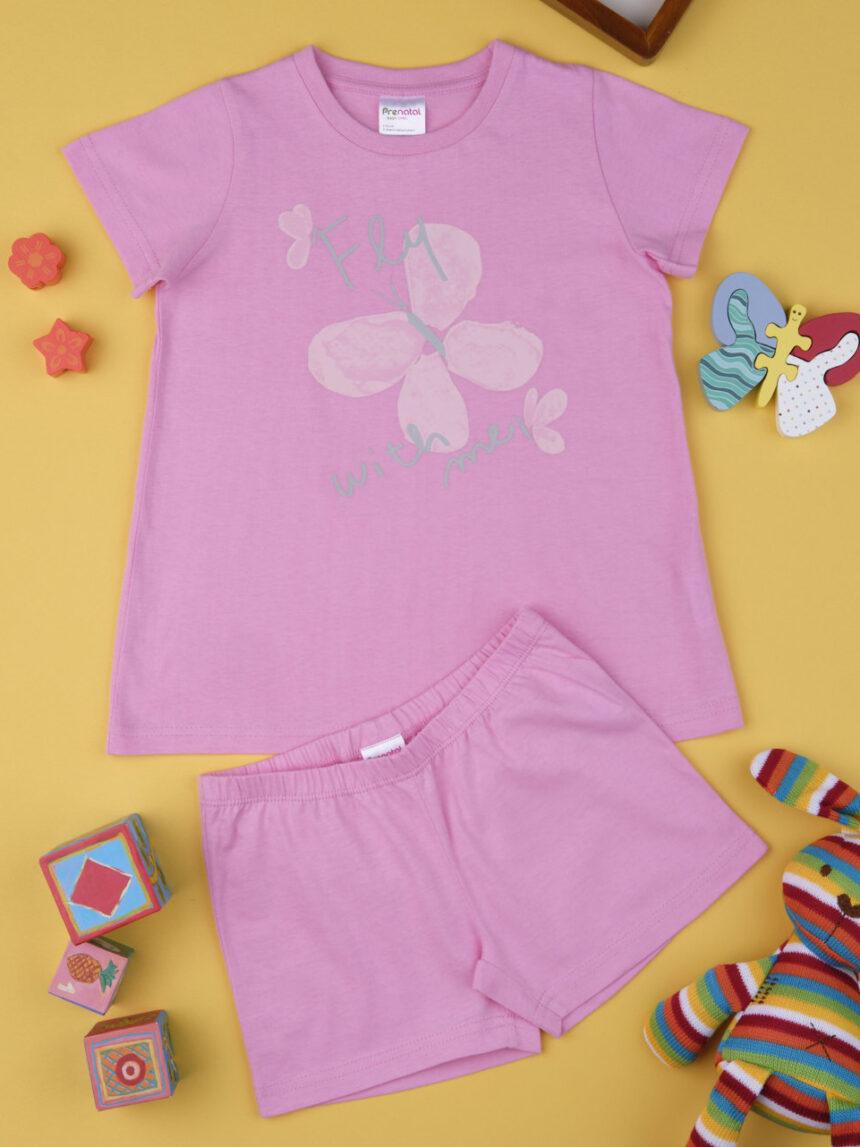 """Pacote de 2 pijamas de menina """"borboleta"""" - Prénatal"""