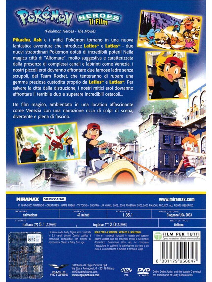 Dvd de heróis de pokémon - o filme - Video Delta