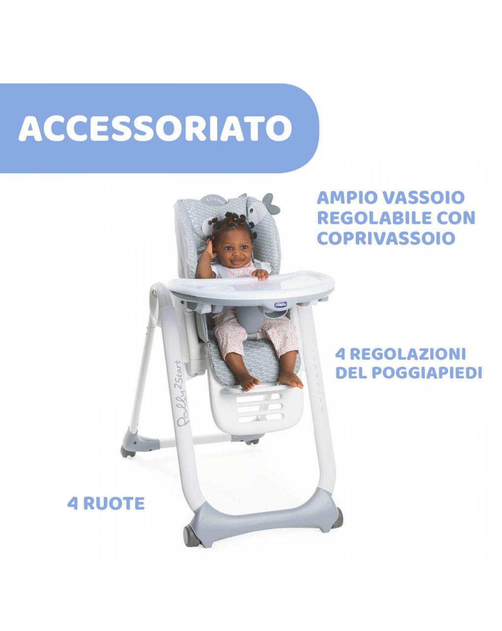 Cadeira alta chicco polly2start dots - Chicco