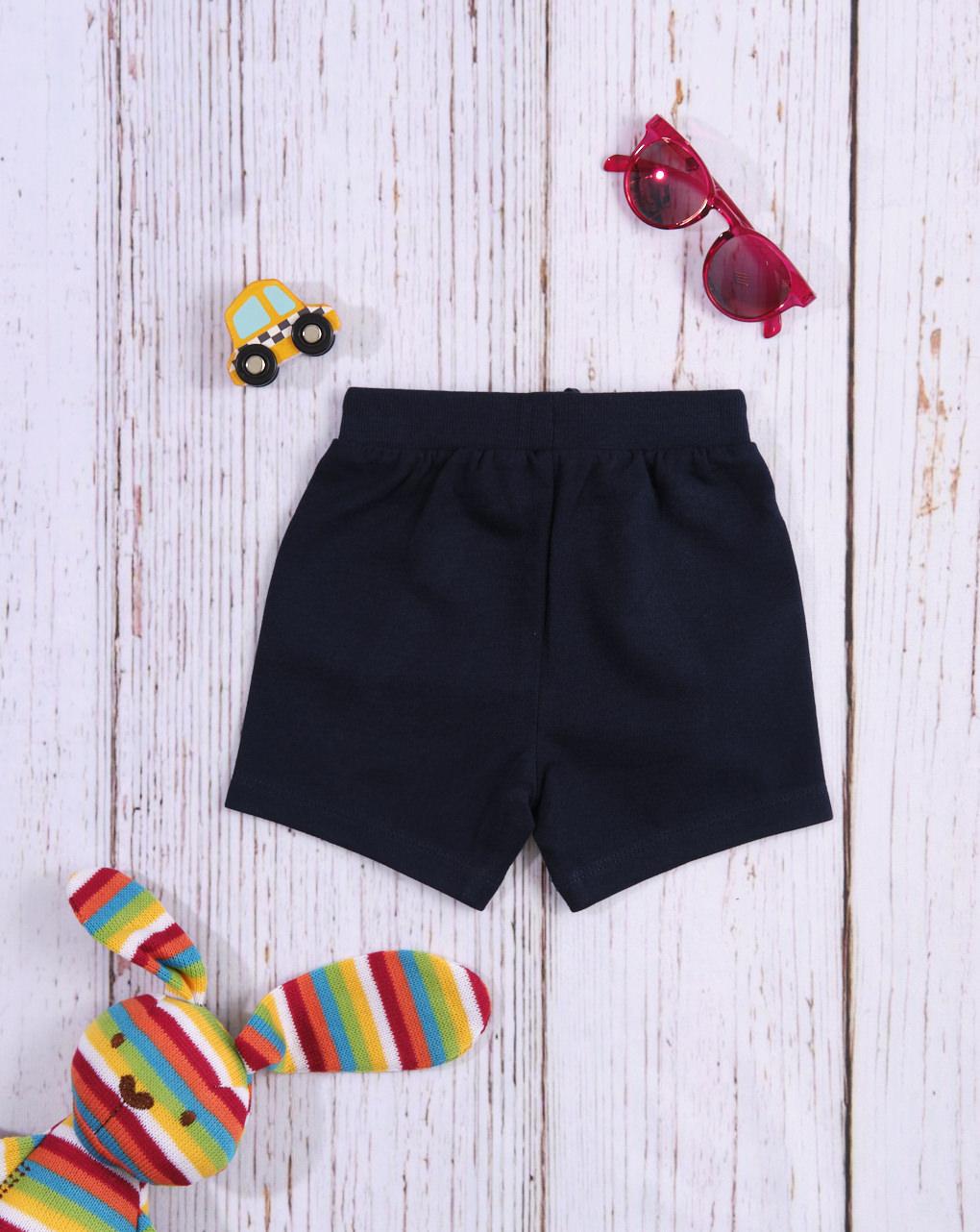 Shorts preto maciço - Prénatal